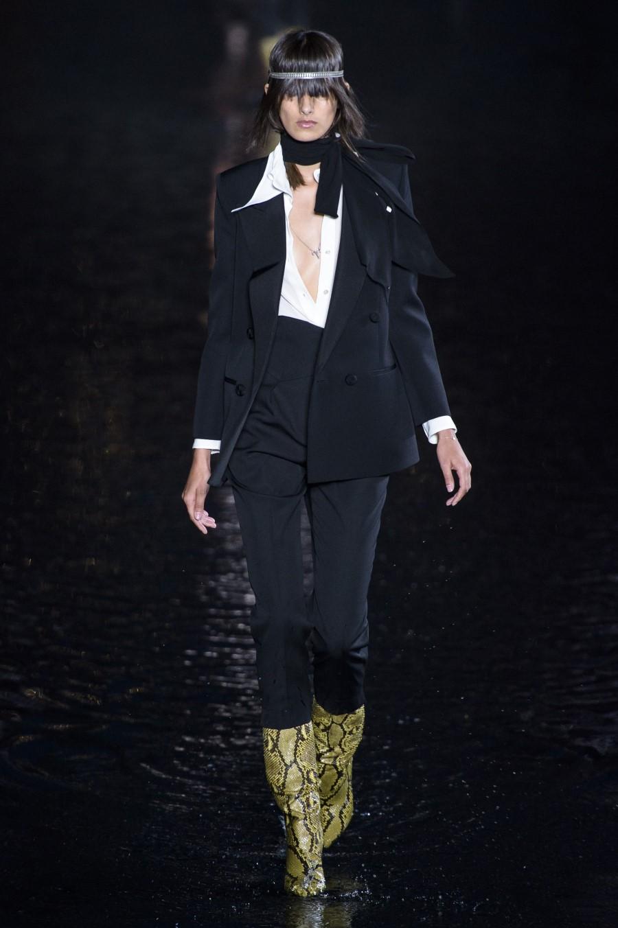 Saint Laurent Spring Summer 2019 Paris Fashion Week Fashionotography