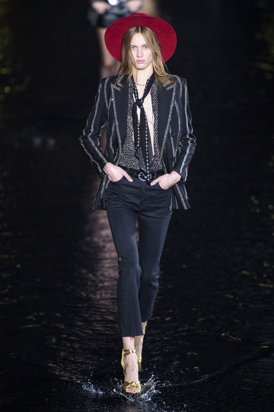Saint Laurent Spring Summer 2019 – Paris Fashion Week