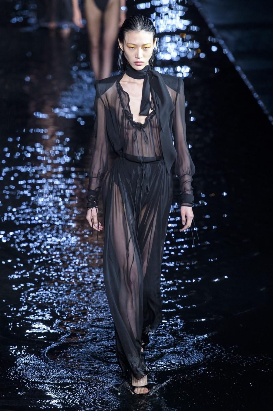Saint Laurent Spring Summer 2019 – Paris Fashion Week