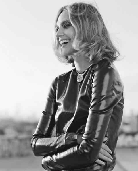 Sasha Pivovarova by Dario Catellani for Vogue Italia November 2018