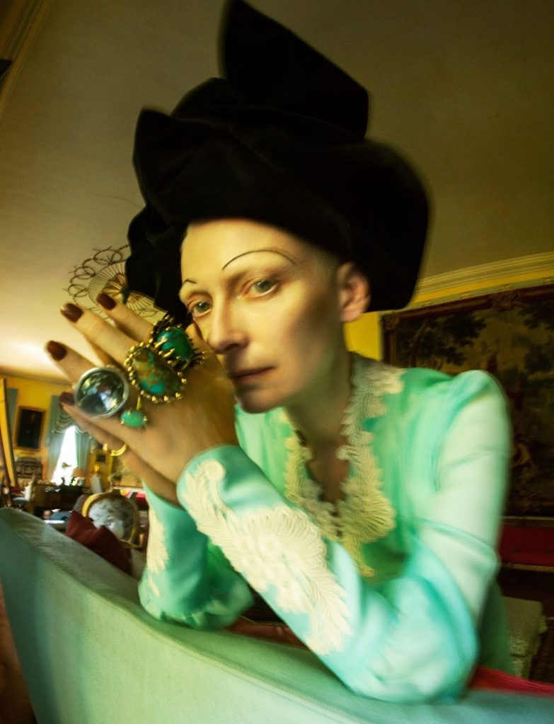 Tilda Swinton by Tim Walker for W Magazine Volume 7 2018