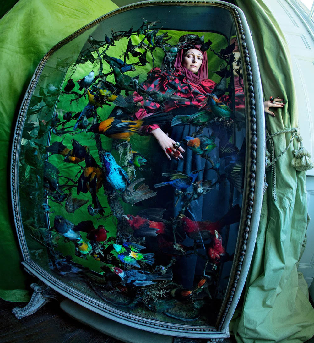 Tilda Swinton by Tim Walker for W Magazine Volume 7 2018