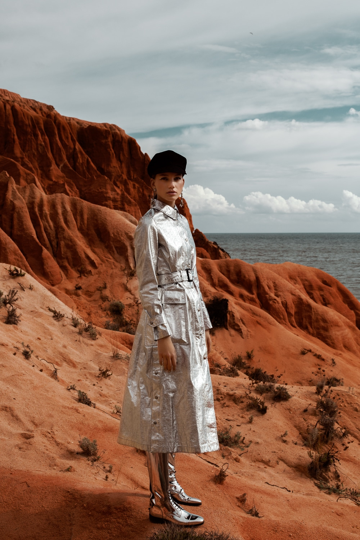 Alexandra Fabiancsics by Daniela Rettore for Elle Serbia December 2018