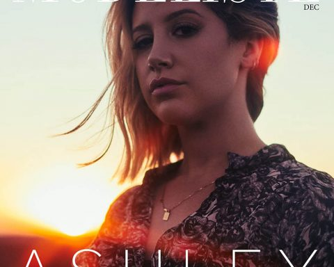Ashley Tisdale covers Modeliste Magazine December 2018 by Mike Rosenthal
