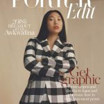 Awkwafina covers Porter Edit December 14th, 2018 by Carlota Guerrero