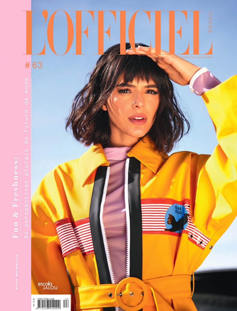 Bruna Marquezine covers L'Officiel Brazil December 2018 by Leo Faria