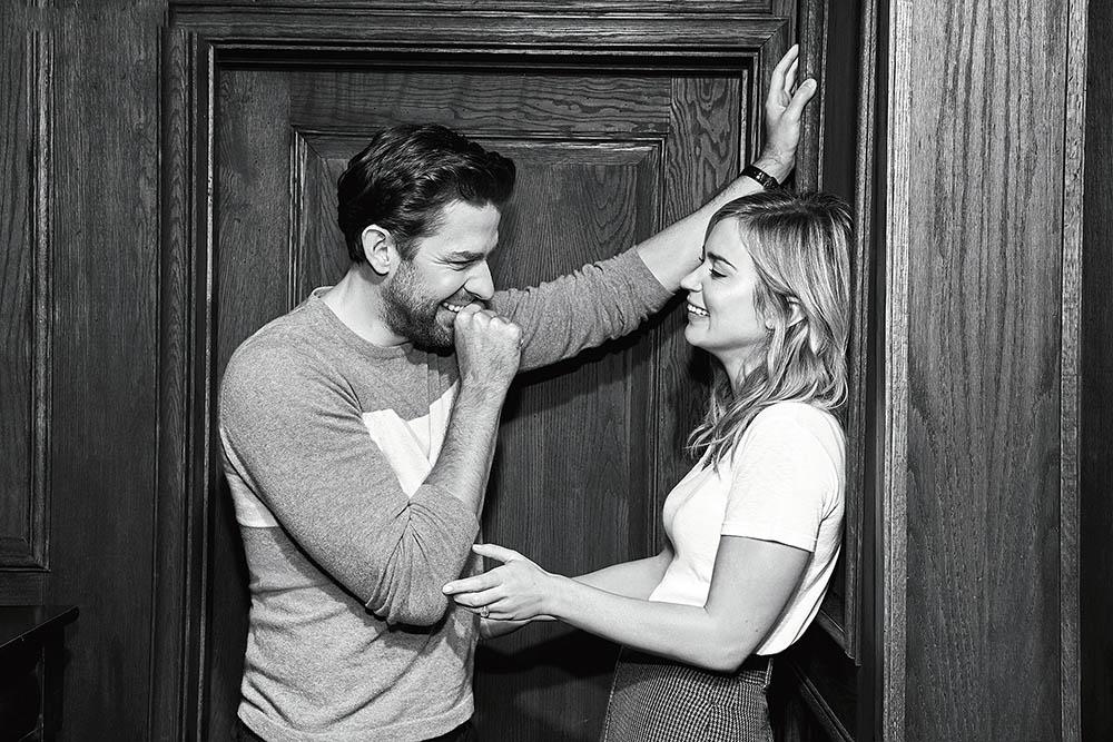 Emily Blunt and John Krasinski cover The Hollywood Reporter December 17th, 2018 by Andrew Hetherington
