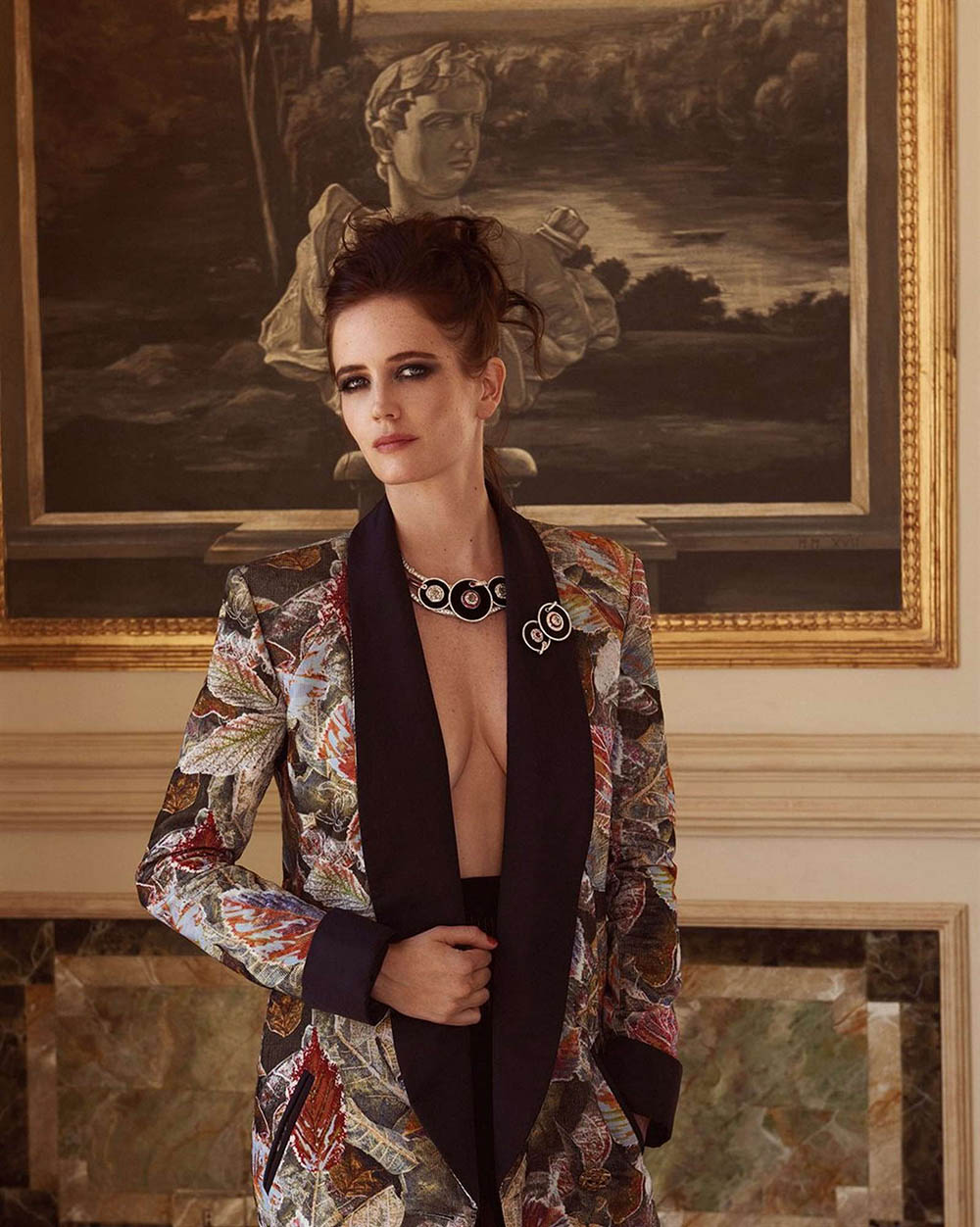 Eva Green covers Vanity Fair Italia December 12th, 2018 by Jonas Bresnan