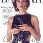 Gemma Arterton covers Harper's Bazaar UK December 2018 by Richard Phibbs