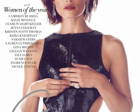 Gemma Arterton covers Harper's Bazaar UK December 2018 by Richard Phibbs