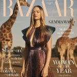 Gemma Ward covers Harper's Bazaar Australia December 2018 by Georges Antoni