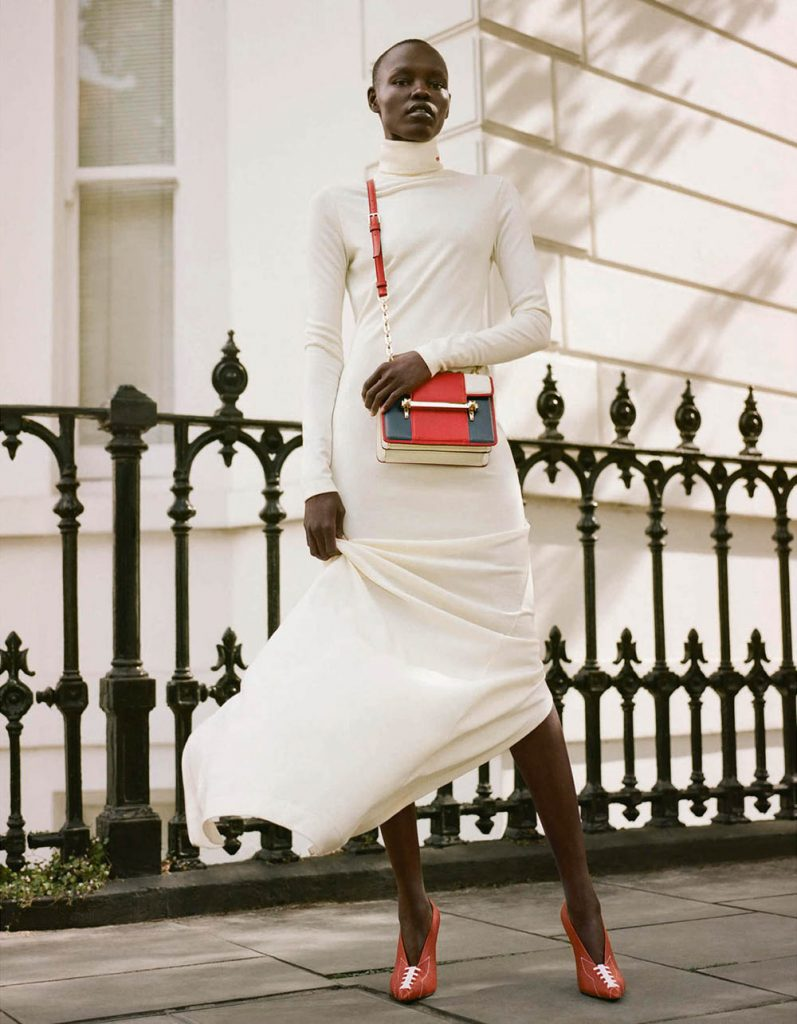 Grace Bol by Mehdi Lacoste for Porter Magazine Winter Escape 2018
