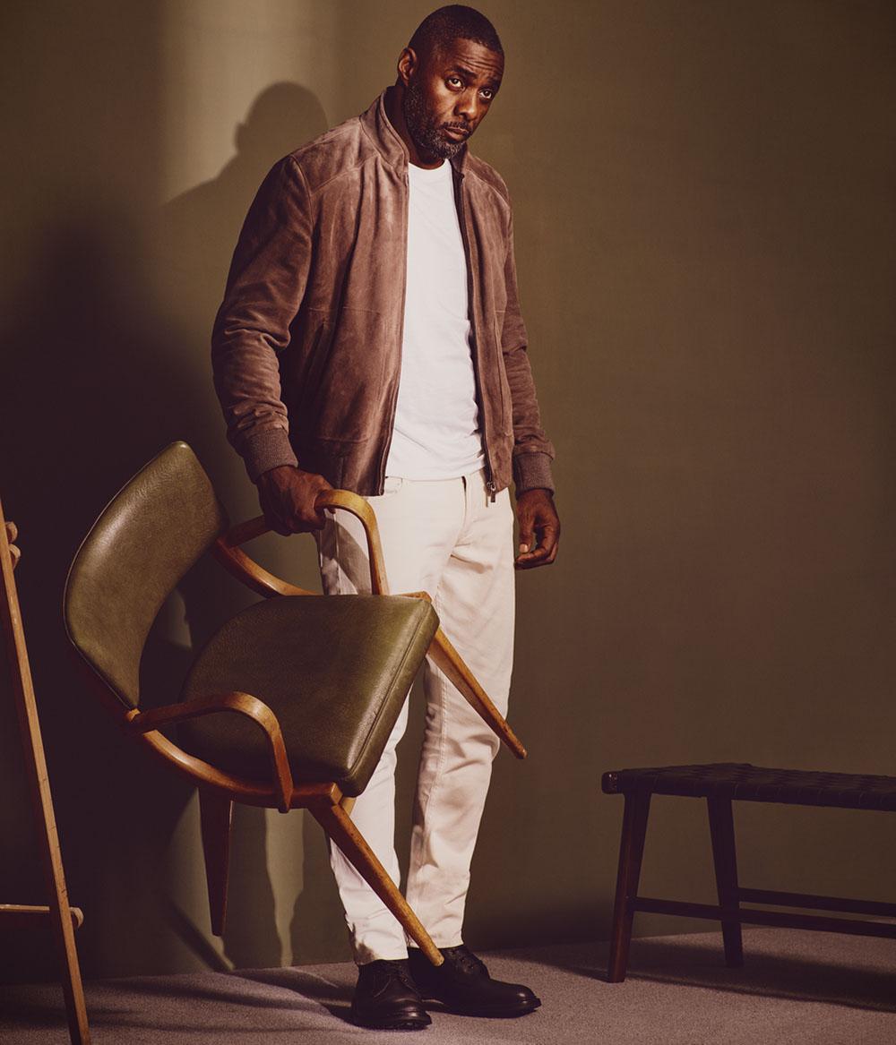 Idris Elba covers Esquire UK December 2018 by Simon Emmett
