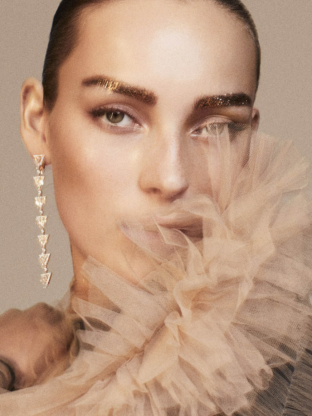 Julia Bergshoeff by Alvaro Beamud for Vogue Spain December 2018