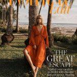 Julia Stegner covers Porter Edit December 21st, 2018 by Benny Horne