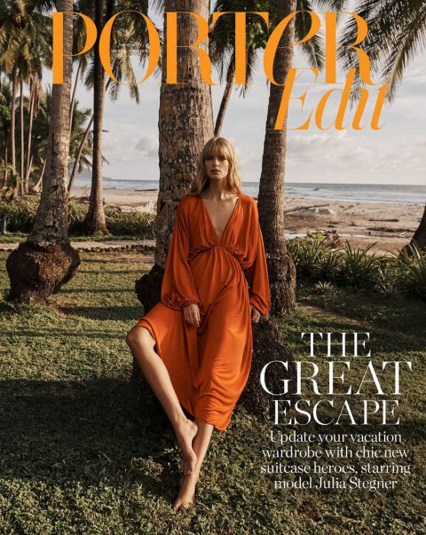 Julia Stegner covers Porter Edit December 21st, 2018 by Benny Horne