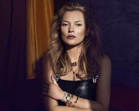 Kate Moss by Sølve Sundsbø for Harper's Bazaar US December 2018