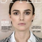 Keira Knightley covers The Sunday Times Style December 23rd, 2018 by Jackie Nickerson