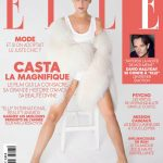 Laetitia Casta covers Elle France December 7th, 2018 by François Rotger