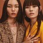 Ling Ling and Xie Chaoyu cover Glass Magazine Autumn 2018 by Alex Bramall