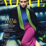 Luna Bijl covers Vogue Mexico & Latin America December 2018 by Chris Colls