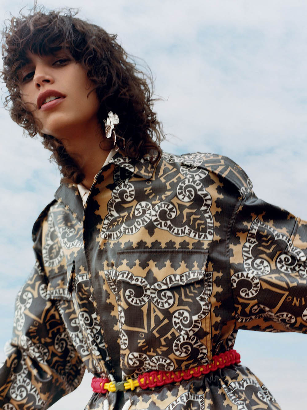 Mica Argañaraz by Oliver Hadlee Pearch for British Vogue January 2019