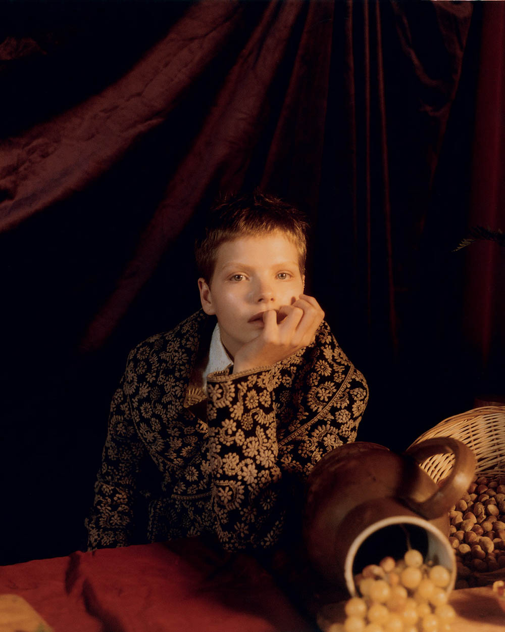 Minnie Wastie covers Vogue Portugal December 2018 by Elina Kechicheva