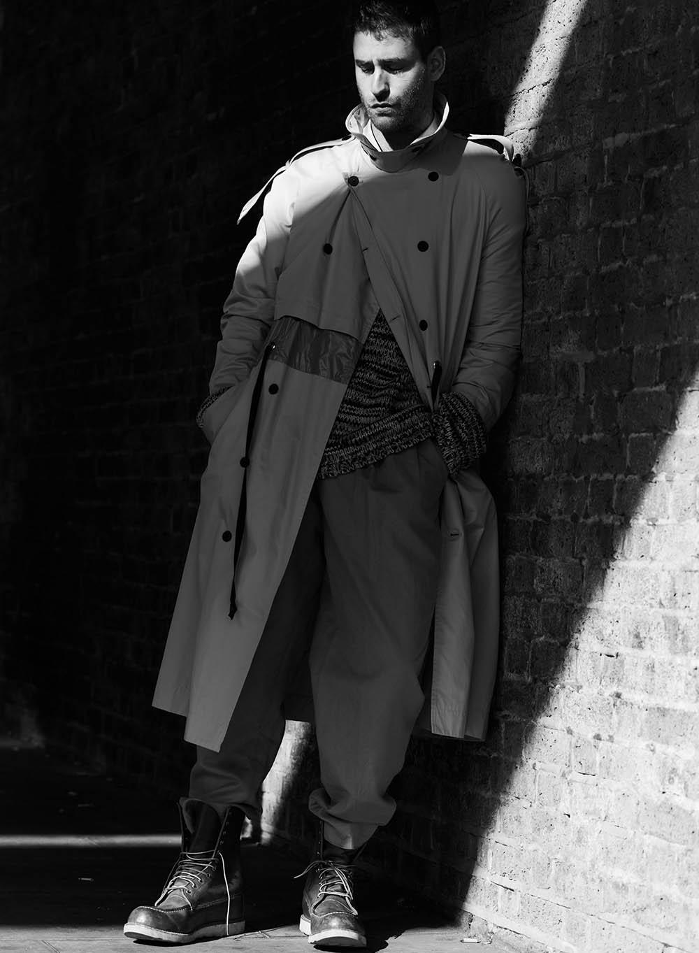 Oliver Jackson-Cohen by Neil Gavin for Wonderland Magazine Winter 2018