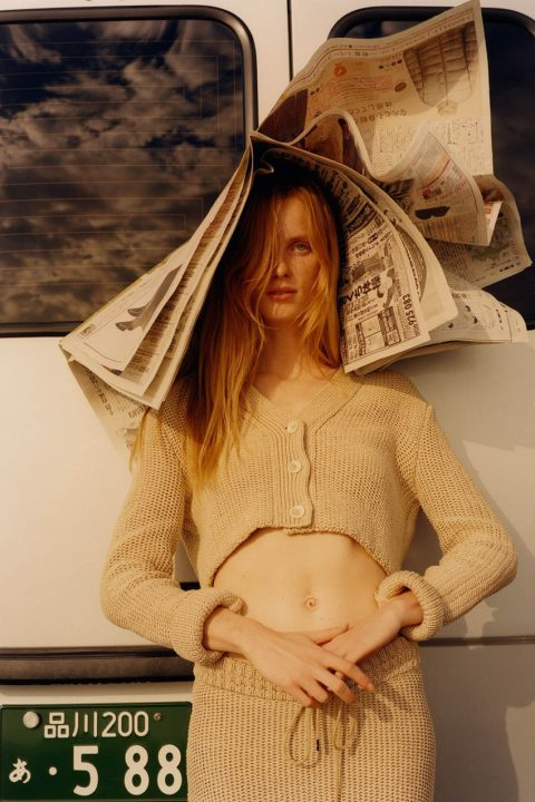 Rianne van Rompaey by Colin Dodgson for W Magazine Volume 8 2018