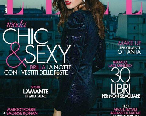 Valery Kaufman covers Elle Italia December 29th, 2018 by Nik Hartley
