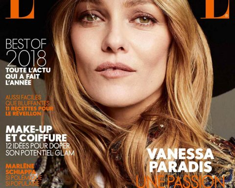 Vanessa Paradis covers Elle France December 21st, 2018 by Philip Gay