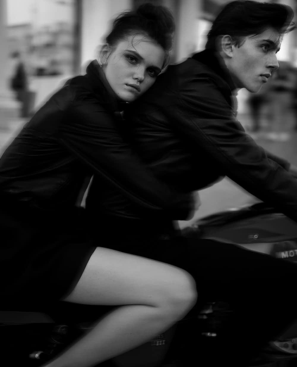 Veronika Primorac and Vika Lisenko by Nikos Papadopoulos for Marie Claire Greece December 2018