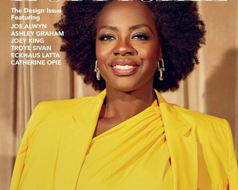 Viola Davis covers L'Officiel US Winter 2018 by Danielle Levitt