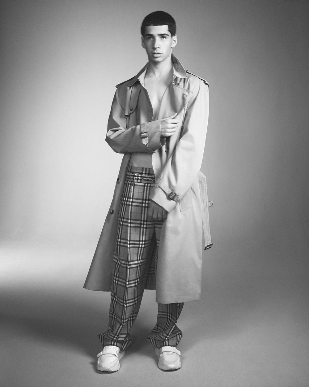 Vivienne Westwood and Burberry reveal campaign for their exclusive collaboration