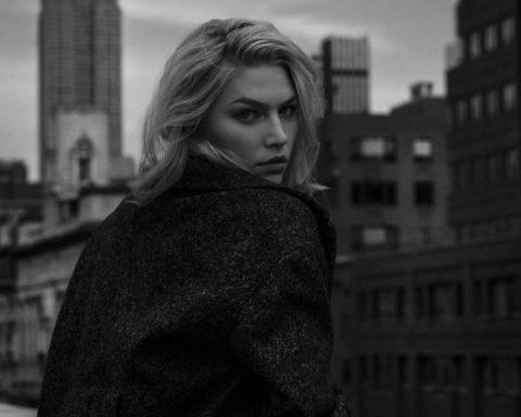 Aline Weber by Juankr for Elle Serbia January 2019