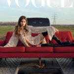 Ansolet Rossouw covers Vogue Ukraine February 2019 by Till Janz