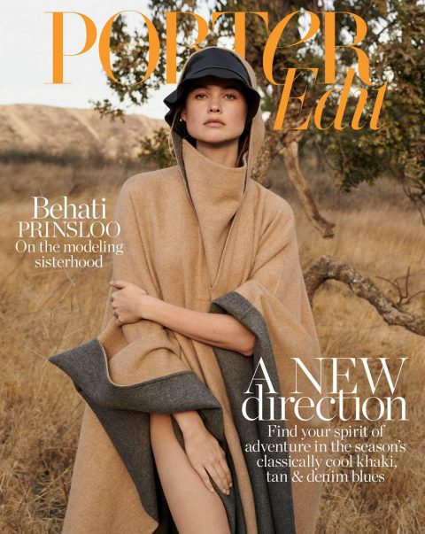 Behati Prinsloo covers Porter Edit January 11th, 2019 by Alexandra Nataf