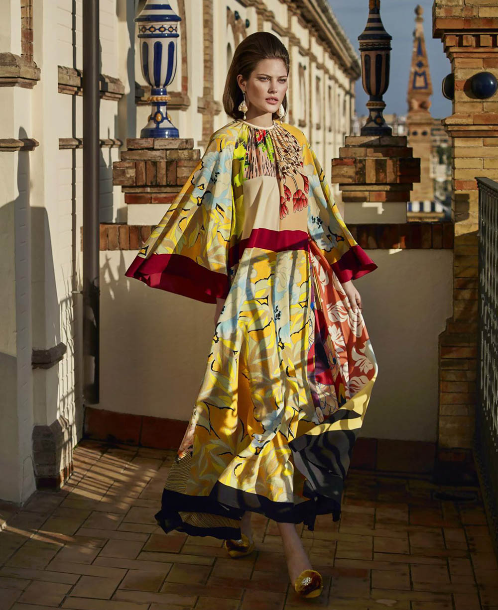 Catherine McNeil by Marcin Tyszka for Harper's Bazaar US February 2019