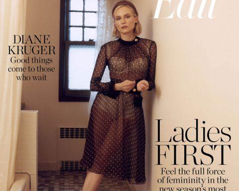 Diane Kruger covers Porter Edit January 25th, 2019 by Benjamin Vnuk