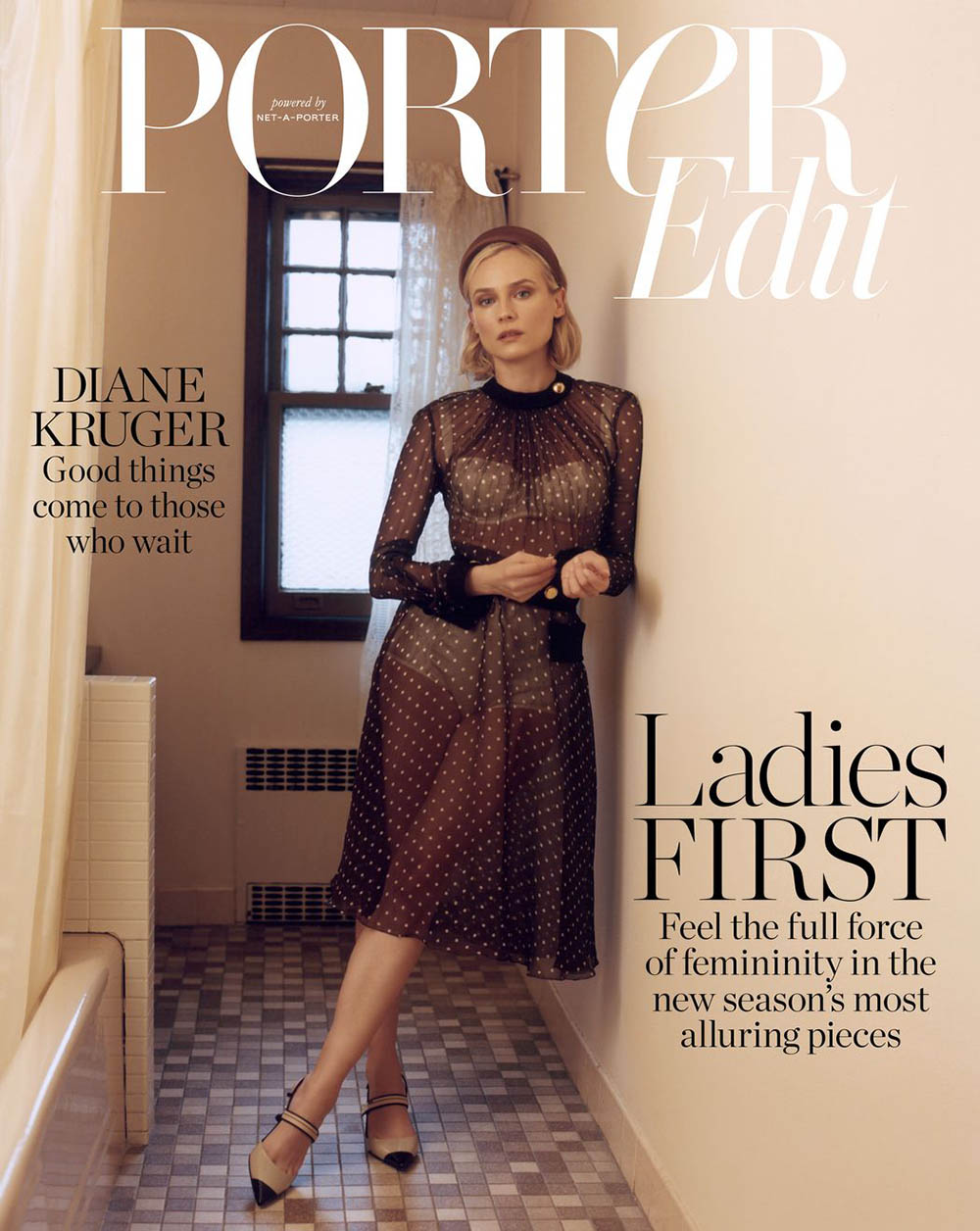 Diane Kruger covers Porter Edit January 25th, 2019 by Benjamin Vnuk