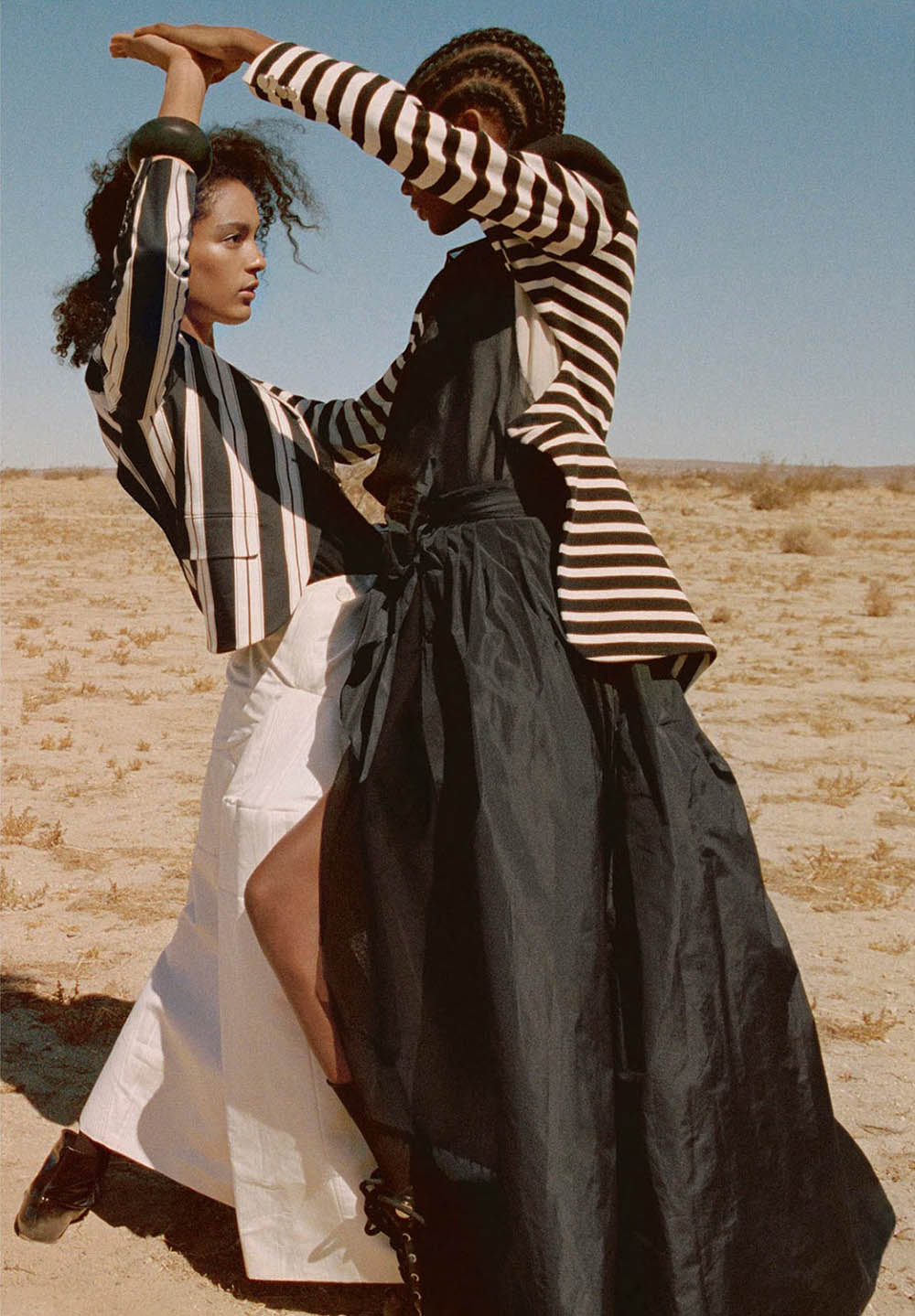 Elibeidy Dani and Luisana Gonzalez by Yelena Yemchuk for Porter Magazine Winter Escape 2018