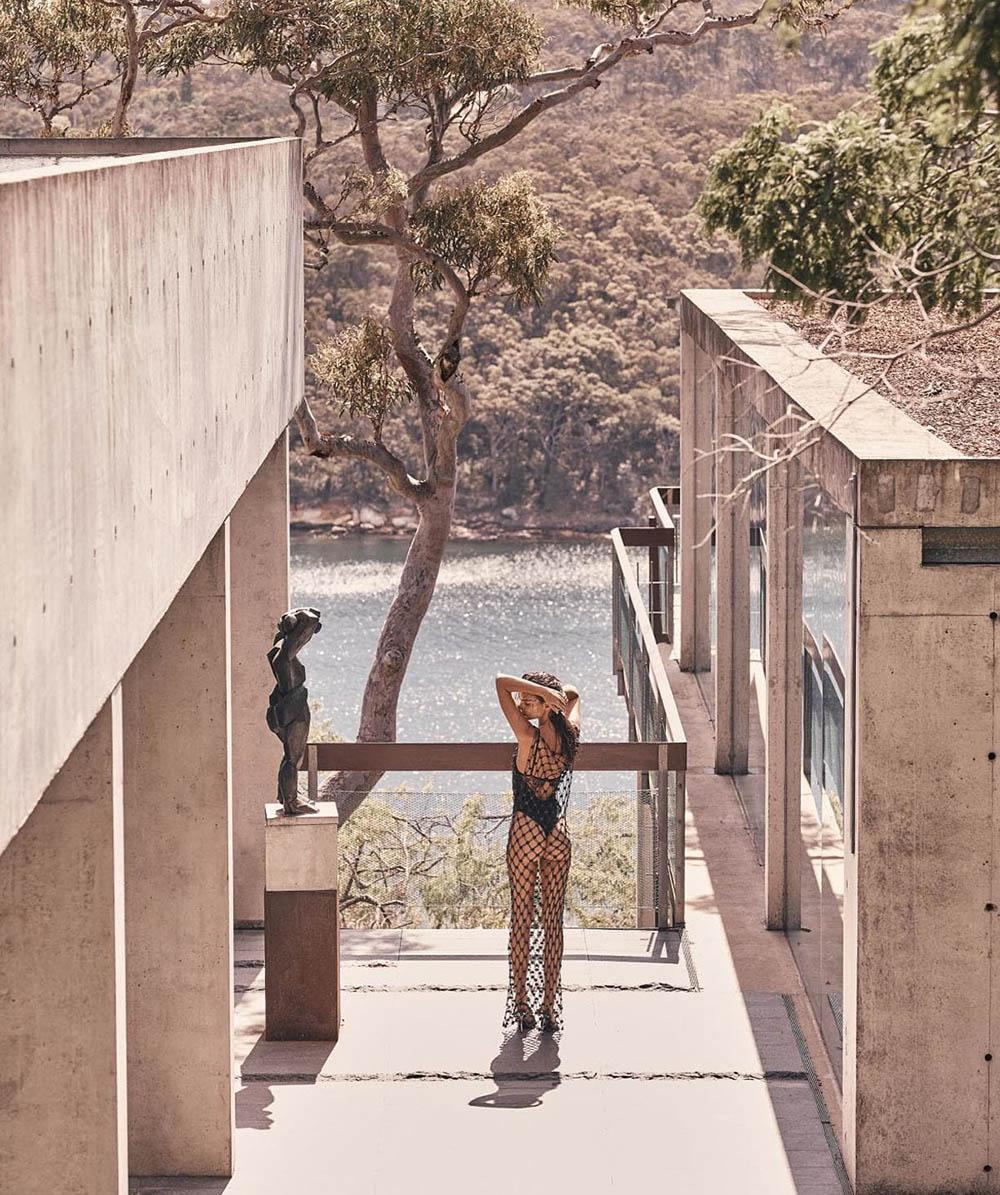 Emily Ratajkowski covers Vogue Australia January 2019 by Nicole Bentley