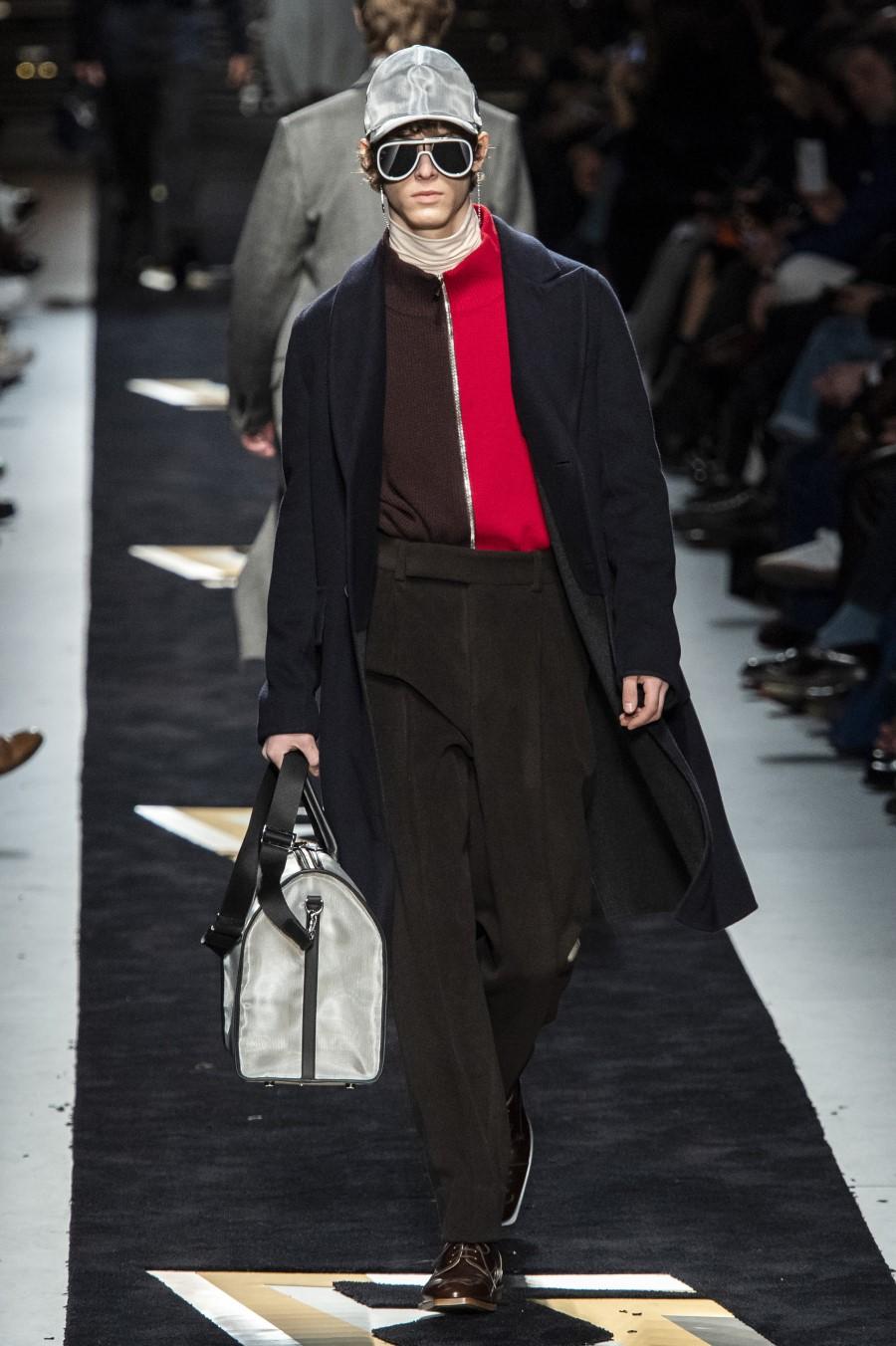 Fendi Men's Fall Winter 2019 - Milano Moda Uomo