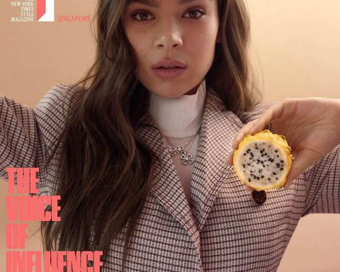Hailee Steinfeld covers T Magazine Singapore January 2019 by Catherine Servel