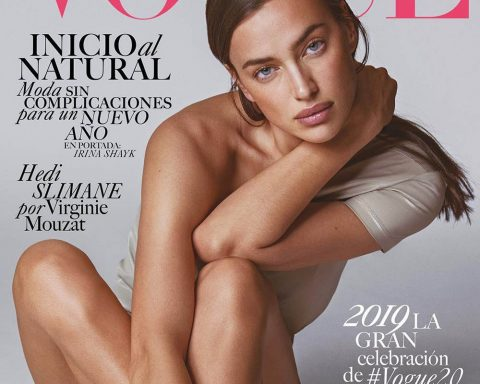 Irina Shayk covers Vogue Latin America January 2019 by An Le