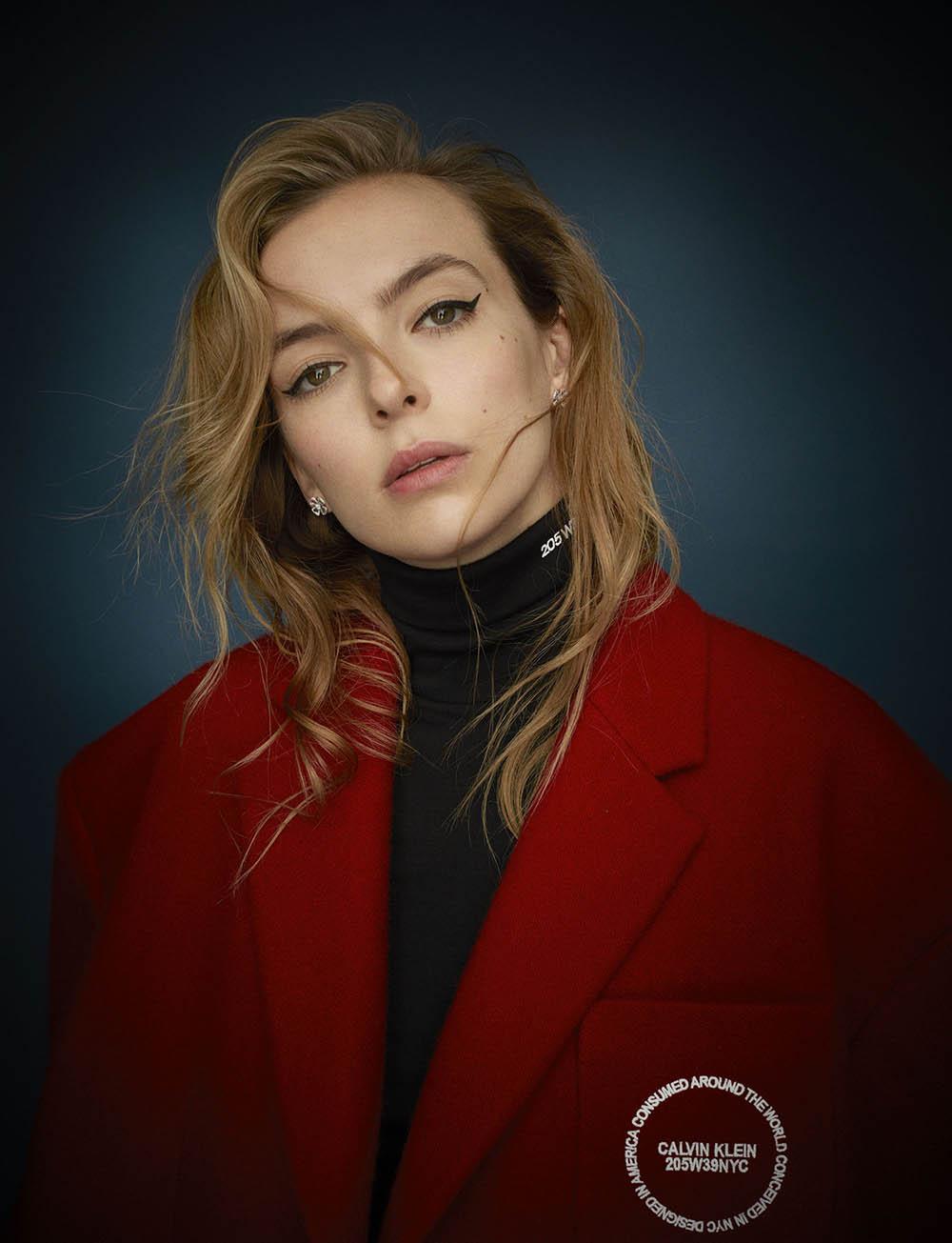 Jodie Comer covers Wonderland Magazine Winter 2018 by Adam Whitehead