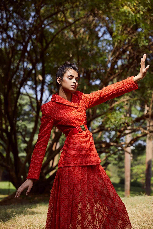 Kiyara Sandhu by Keegan Crasto for Grazia India January 2019