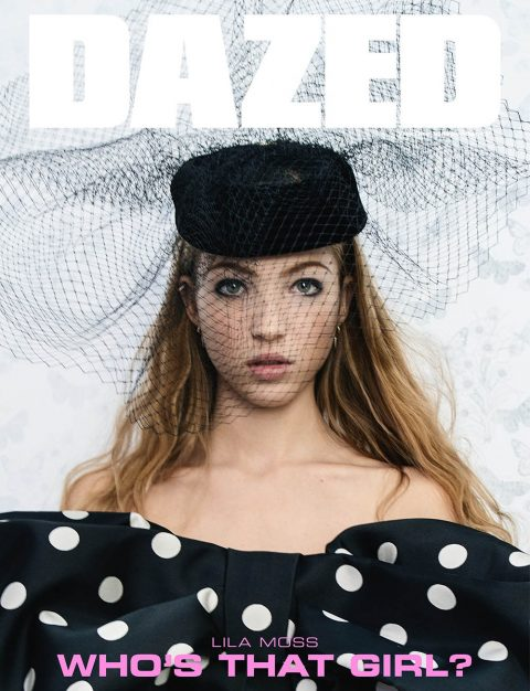 Lila Moss covers Dazed Magazine Winter 2018 by Tim Walker