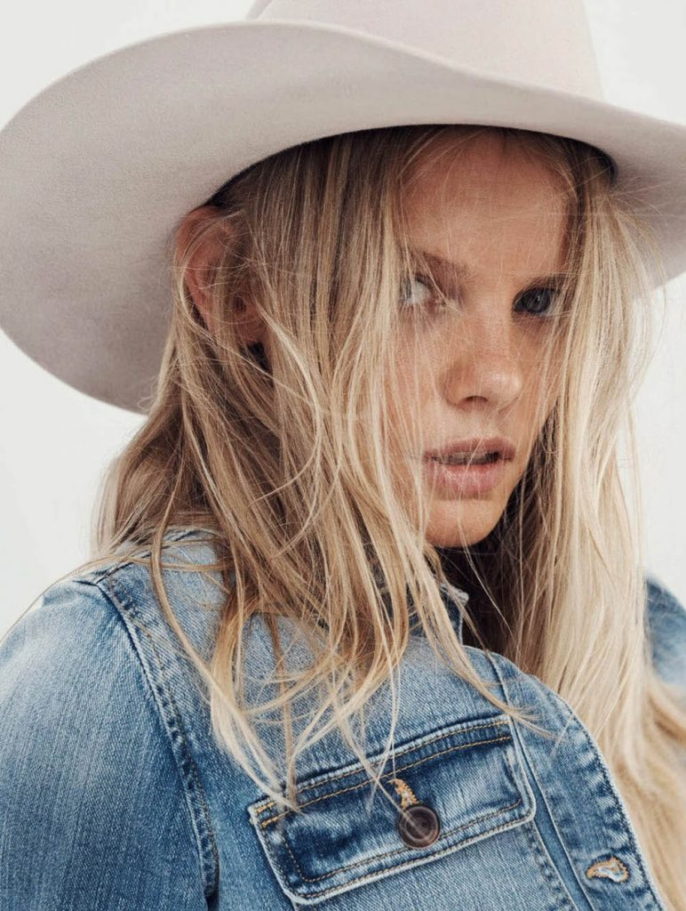 Marloes Horst by Simon Lekias for Elle Australia January 2019
