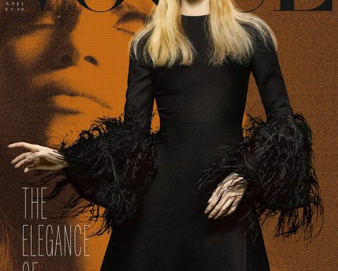 Rebecca Leigh Longendyke covers Vogue Italia January 2019 by Craig McDean